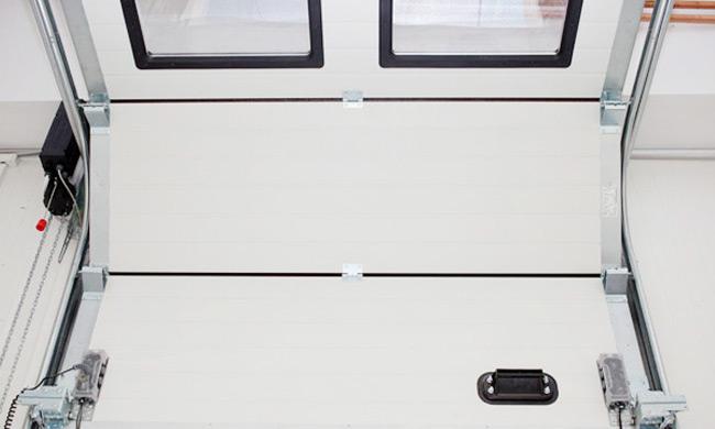 Portes sectionnelles industrielles - Porte de garage industrielle occasion ...