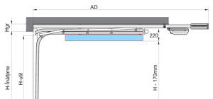 Portes de garage sectionnelles Benefit DN