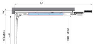 Portes de garage sectionnelles Benefit SD