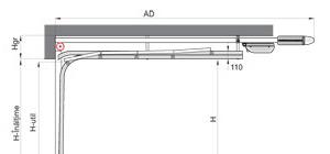Portes de garage sectionnelles Optima LHF