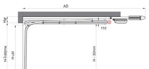 Portes de garage sectionnelles Optima LHR