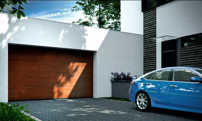 Portes de garage sectionnelles mca for Porte de garage mca
